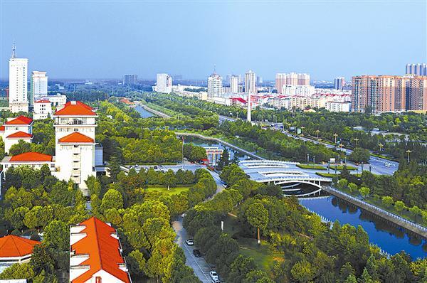 共建绿色森林城 同看大美新天中