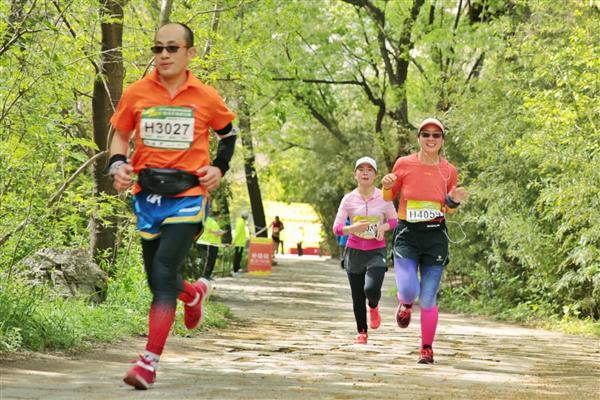 2018中国山地马拉松·驻马店嵖岈山站鸣枪开跑