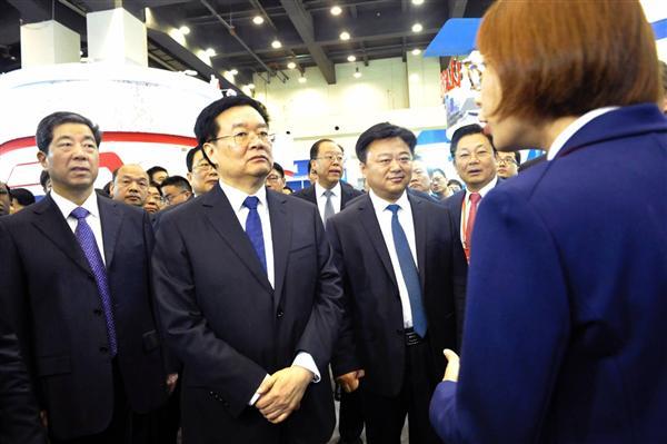 我市组团参加第十二届中国投洽会硕果盈枝
