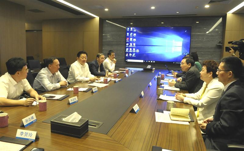朱是西赴上海红星美凯龙家居集团考察对接合作项...