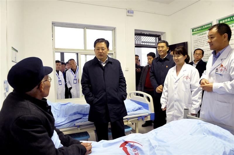 朱是西深入平舆县调研指导脱贫攻坚工作