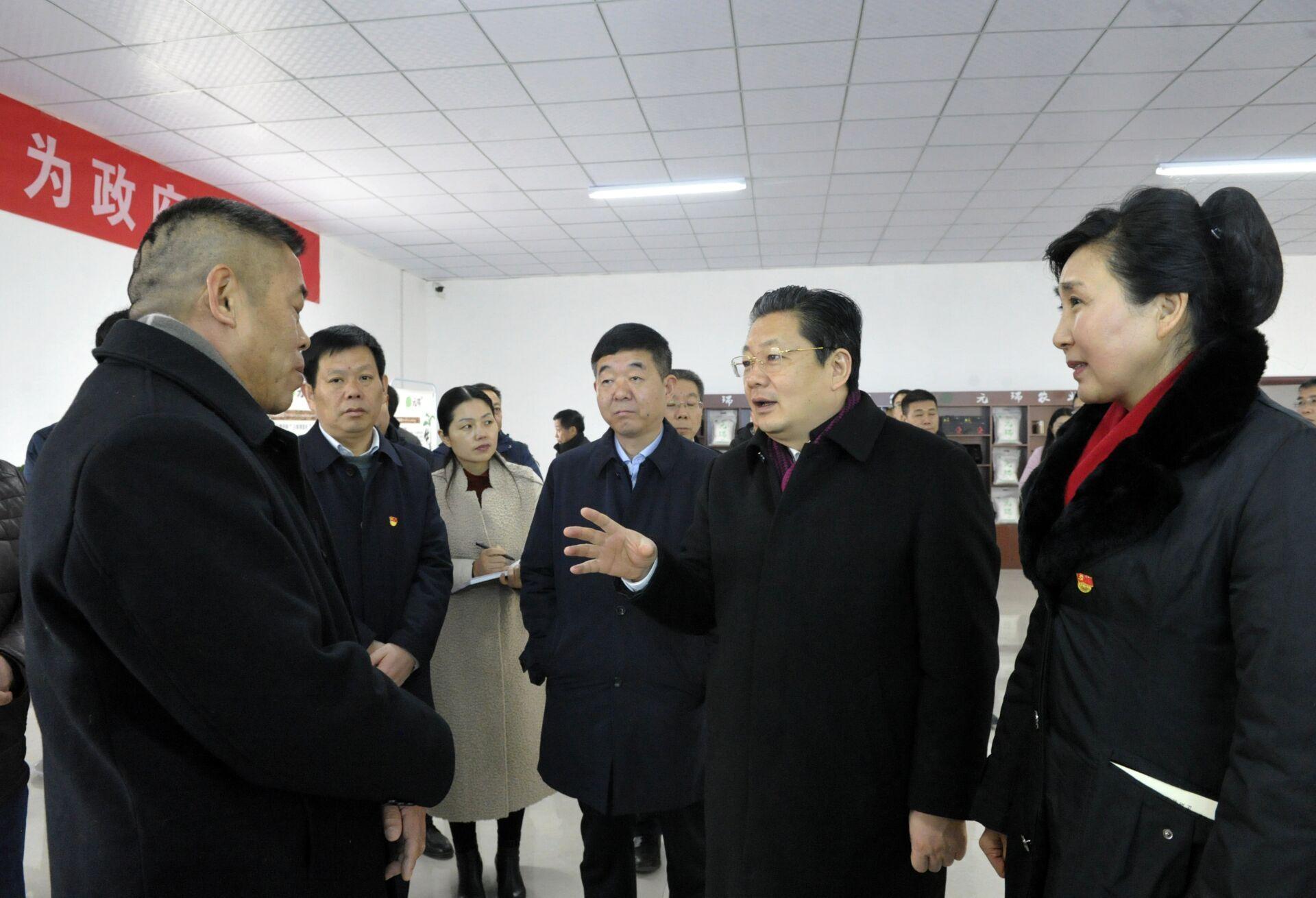 朱是西深入正阳调研指导国家现代农业产业园发展工作