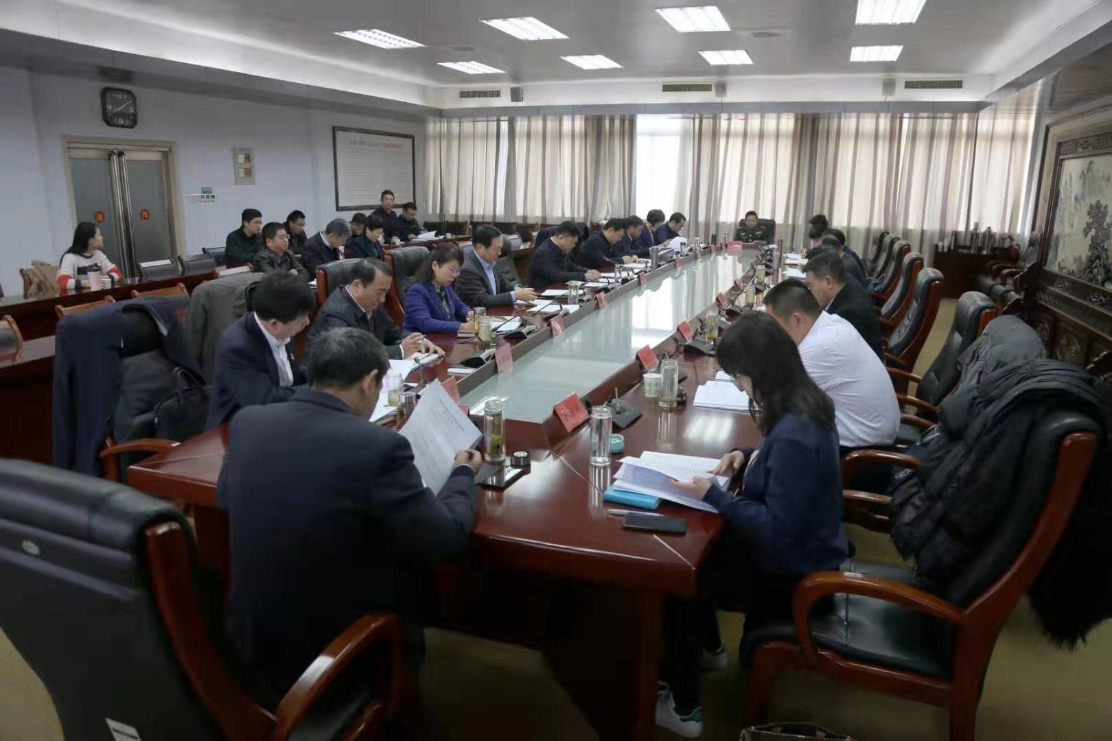 市委常委班子召开主题教育专题民主生活会