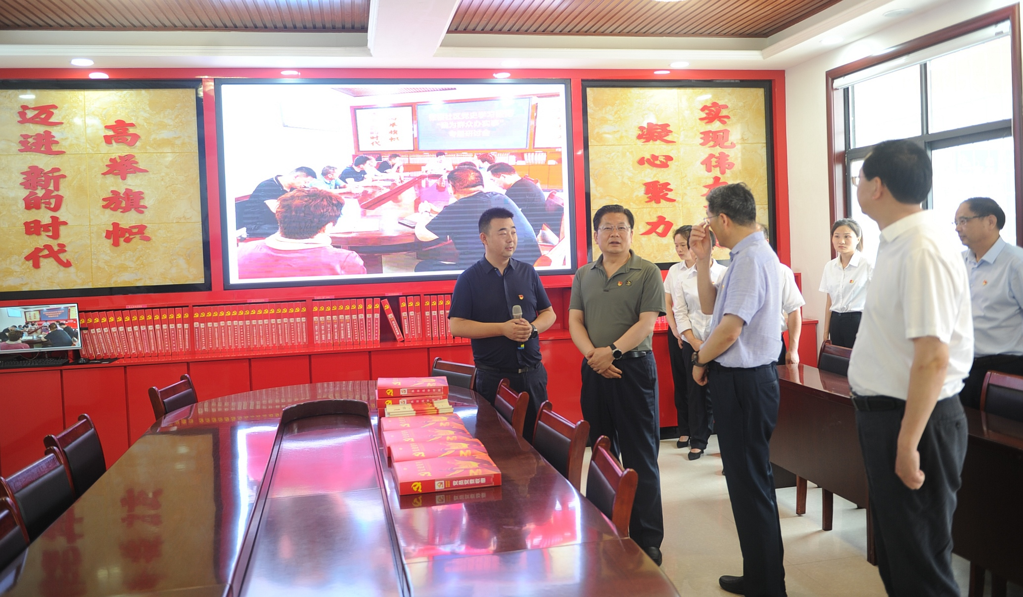 朱是西深入平舆县调研指导基层党建和党史学习教育